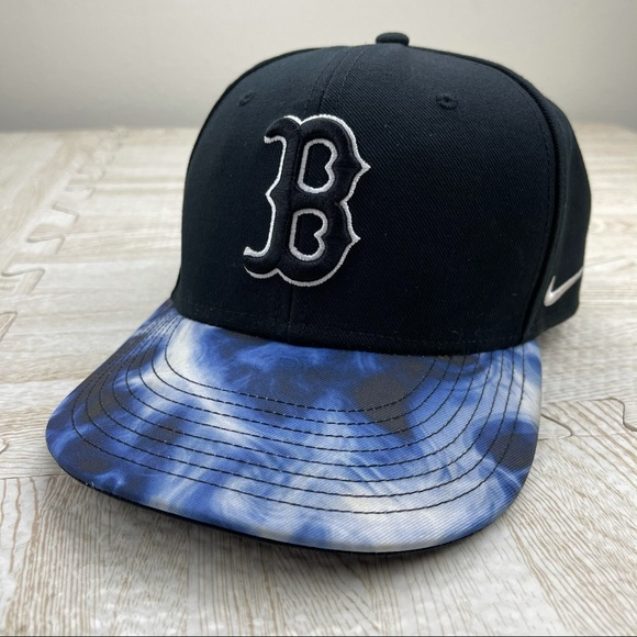 Nike Boston Red Sox Tye Die Baseball SnapBack Hat